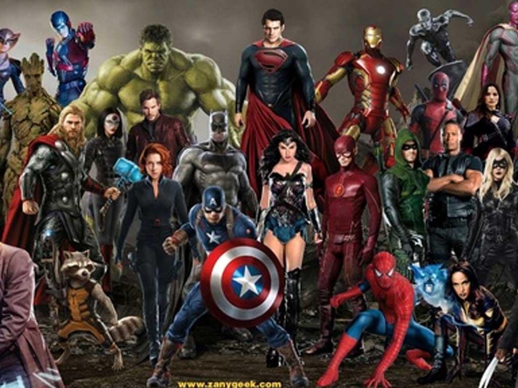 Top Ten de Super Héroes